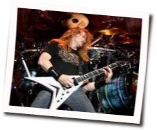 Megadeth guitar tabs for Deadly nightshade