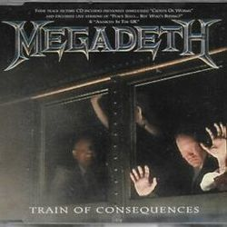 Megadeth tabs for Train of consequences