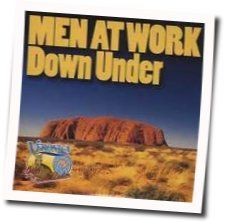 Men At Work tabs for Down under