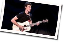 Shawn Mendes guitar chords for Cold in california