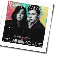 Shawn Mendes guitar tabs for Stitches acoustic