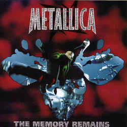 Metallica tabs for The memory remains