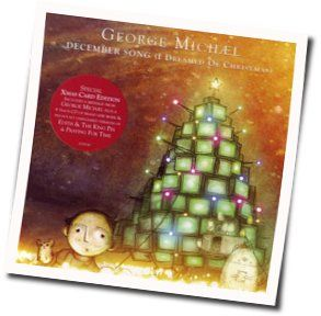 George Michael guitar chords for December song i dreamed of christmas