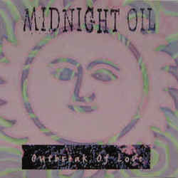 Midnight Oil chords for Outbreak of love
