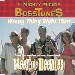 The Mighty Mighty Bosstones chords for Wrong thing right then
