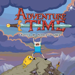 Misc Cartoons bass tabs for Adventure time - come along with me