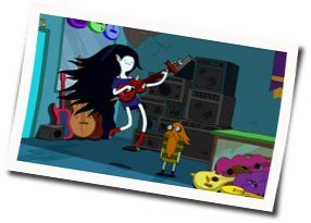 Misc Cartoons guitar chords for Adventure time - slow dance with you