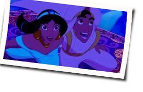 Misc Cartoons guitar chords for Aladdin - a whole new world