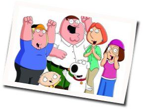 Misc Cartoons bass tabs for Family guy theme song