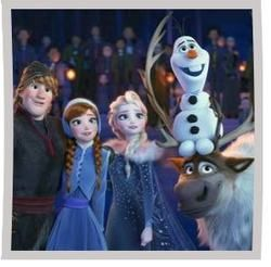 Misc Cartoons guitar chords for Frozen 2 - show yourself