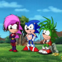 Misc Cartoons guitar chords for Sonic underground - ive found my home