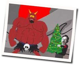 Misc Cartoons guitar chords for South park - christmas time in hell