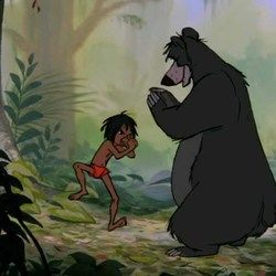 Misc Cartoons bass tabs for The jungle book - the bare necessities