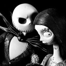 Misc Cartoons guitar chords for The nightmare before christmas - jack and sallys song