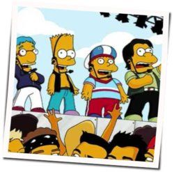 Misc Cartoons guitar chords for The simpsons - party posse
