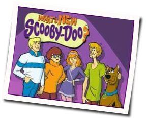 Misc Cartoons guitar chords for Whats new scooby doo