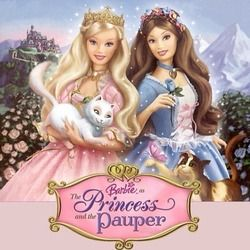 Misc Soundtrack guitar chords for Barbie as the princess and the pauper - im a girl like you