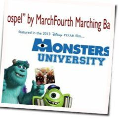 Misc Soundtrack bass tabs for Monsters university - marchfourth marching band - gospel