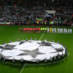 Misc Television tabs for Uefa champions league anthem