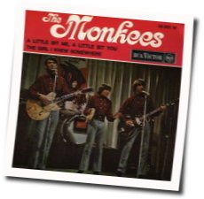 The Monkees chords for A little bit me a little bit you