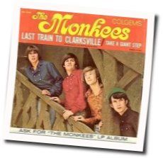 The Monkees chords for Last train to clarksville