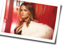 Maren Morris guitar chords for Company you keep