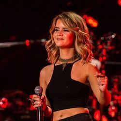 Maren Morris guitar chords for The middle