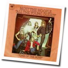 Mott The Hoople chords for All the young dudes