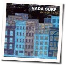 Nada Surf bass tabs for Concrete bed