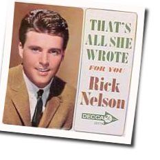 Ricky Nelson tabs and guitar chords