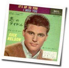 Ricky Nelson guitar chords for Alone