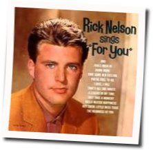 Ricky Nelson guitar chords for Fools rush in
