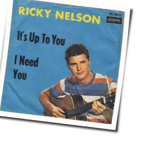 Ricky Nelson guitar chords for Its up to you (Ver. 2)