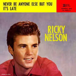 Ricky Nelson guitar chords for Never be anyone else but you