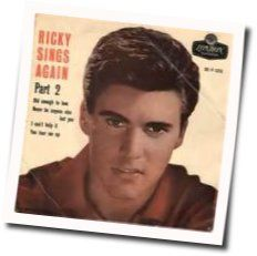Ricky Nelson guitar chords for Old enough to love