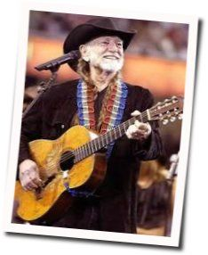 Willie Nelson guitar chords for Blue eyes crying in the rain