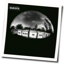 Oasis tabs for All in the mind