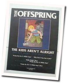 The Offspring tabs for The kids arent alright