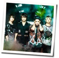One Ok Rock chords for Wasted nights