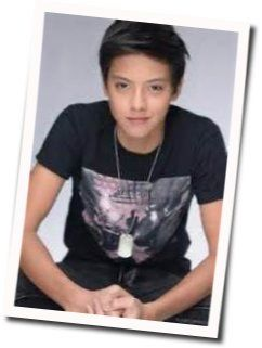 Daniel Padilla tabs for Grow old with you