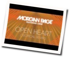 Morgan Page chords for Open heart