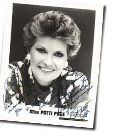 Patti Page chords for April in paris