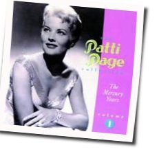 Patti Page chords for Call me irresponsible