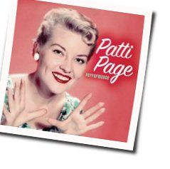 Patti Page chords for Dont cry for me argentina