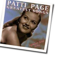 Patti Page chords for I thought about you