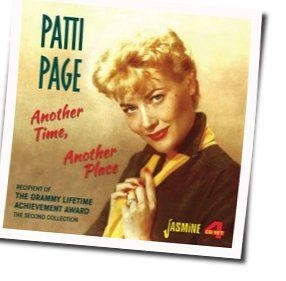 Patti Page chords for Once in a while