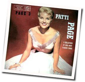 Patti Page chords for Penthouse serenade