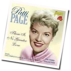 Patti Page chords for Rockin chair