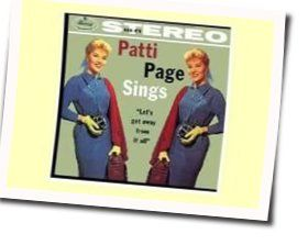 Patti Page chords for Stars fell on alabama
