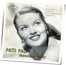 Patti Page tabs for Tennessee waltz